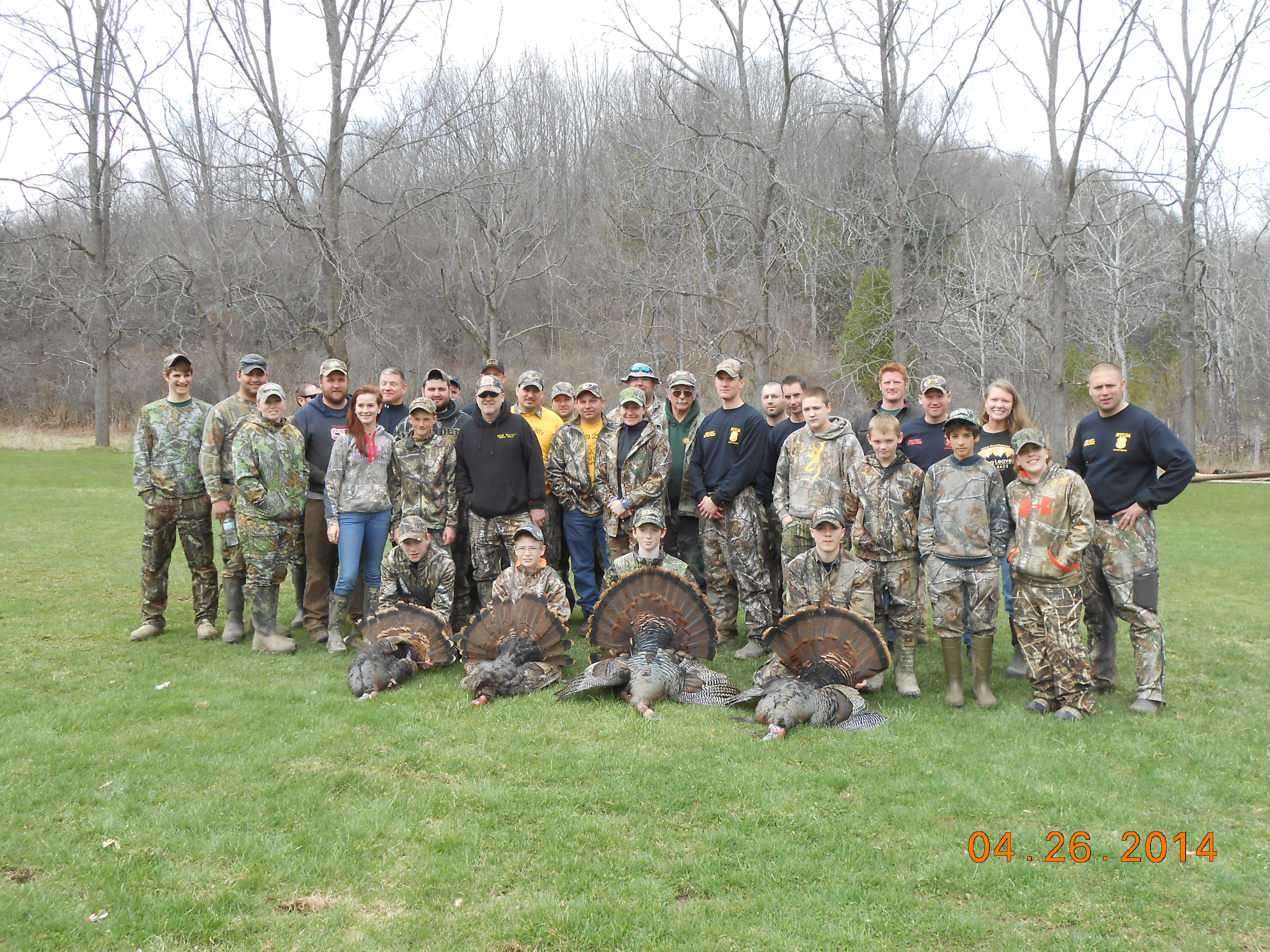 NYSOHOF 2014 Youth Turkey Hunt