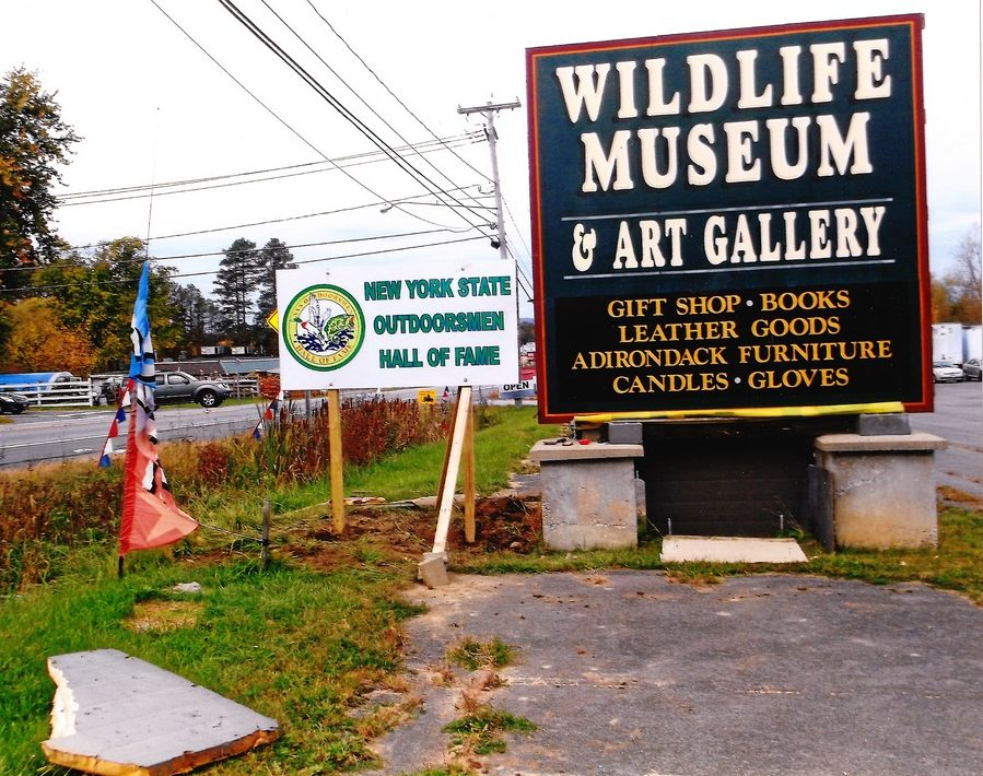 New Sign at Museum A